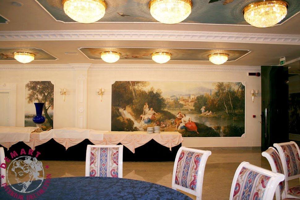soffitto-decorazione-parete-affresco-digitale-hotel