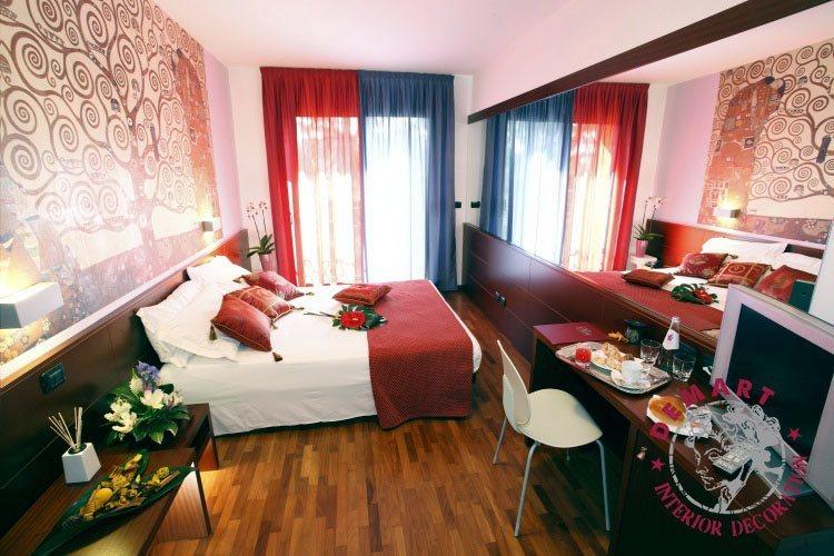affresco-digitale-klimt-hotel
