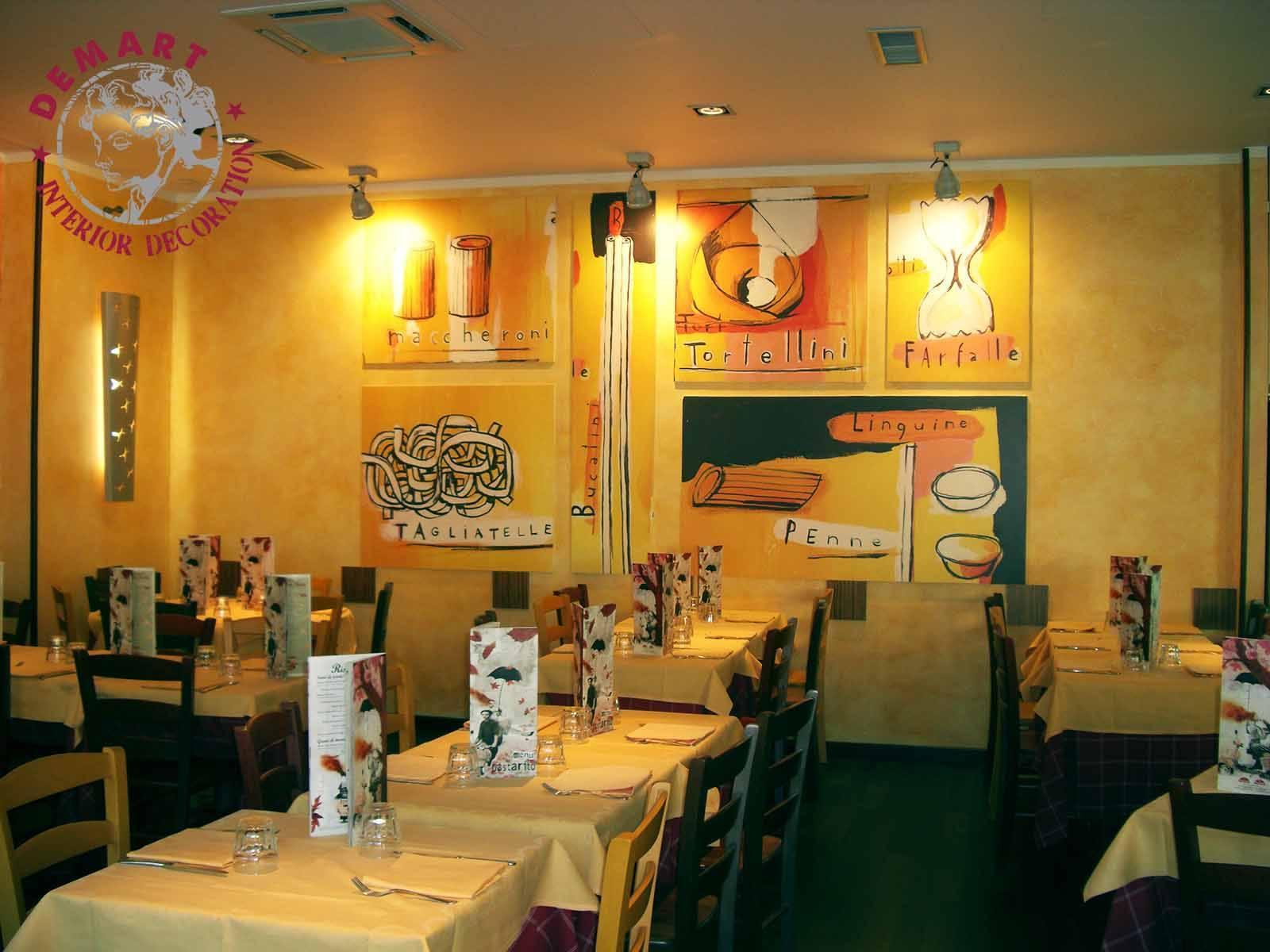 decorazione-parete-ristorante