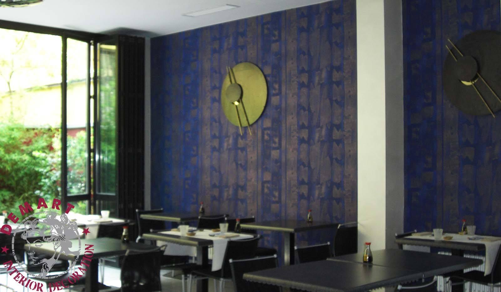 decorazione-parete-ristorante-giapponese