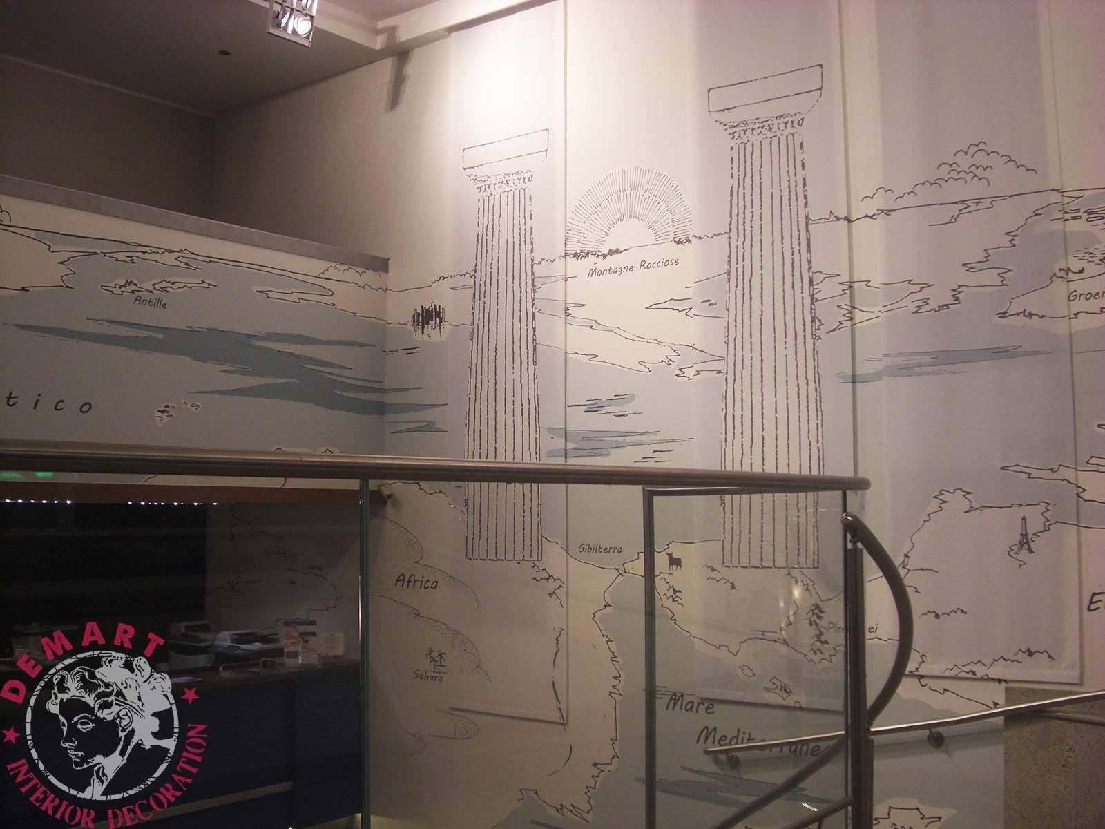 decorazione-pareti-hall-affresco-digitale-tele-decorative