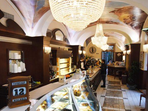 Decorazione bar pasticceria, Firenze